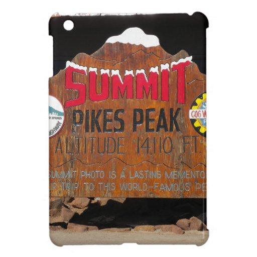 Pikes Höchstgipfel, Colorado iPad Mini Schutzhülle