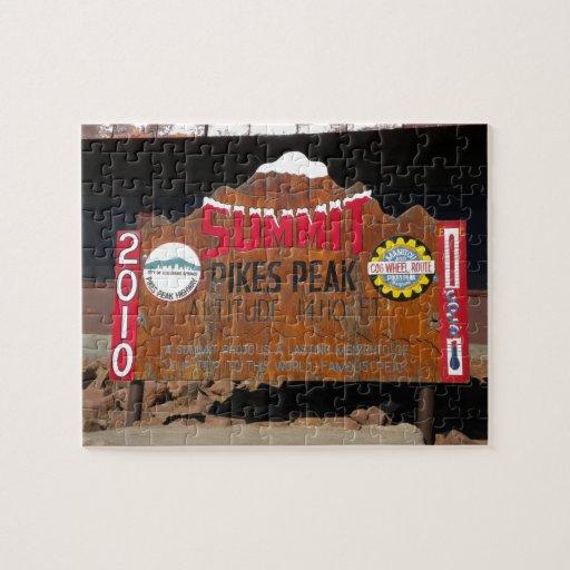 Pikes Höchstgipfel, Colorado Puzzle