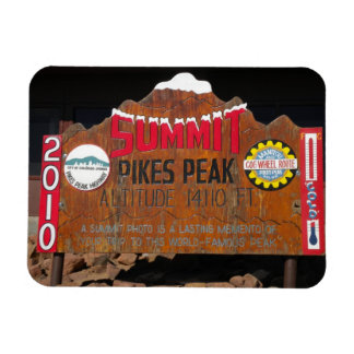 Pikes Höchstgipfel, Colorado Rechteckige Magnete