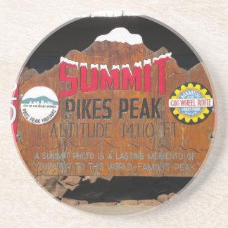 Pikes Höchstgipfel, Colorado Untersatz