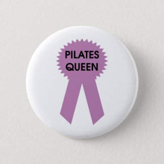 Pilates Königin Runder Button 5,7 Cm
