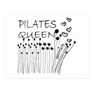 Pilates Methoden-Königin! Postkarte
