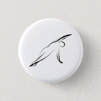 Pilates Pose Runder Button 3,2 Cm
