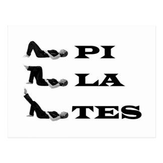 Pilates Zahlen! Postkarte