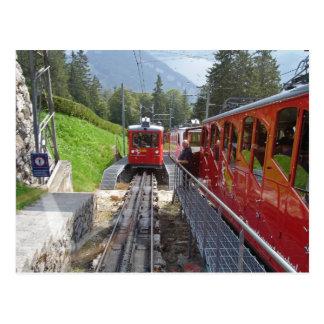 Pilatus Eisenbahn-Postkarte Postkarte