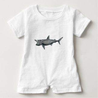 Pilger Hai Baby Strampler