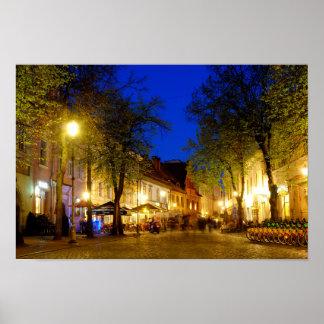 Pilies Straße Poster