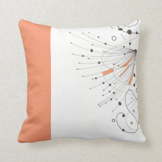 Pillow with lines and dots kissen