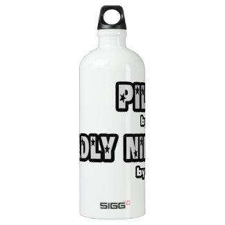 Pilot bis zum Tag… tot Ninja bis zum Nacht Wasserflasche