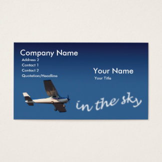Pilot Visitenkarte