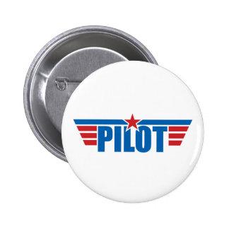 Pilot Wings Abzeichen - Luftfahrt Buttons