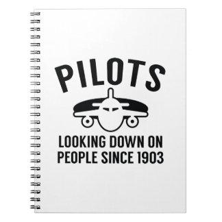 Piloten Spiral Notizblock