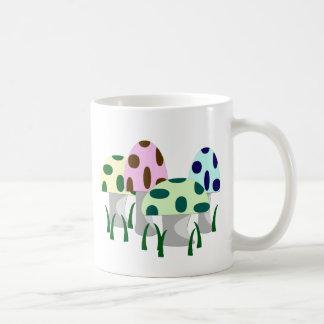 Pilz-Flecken Kaffeetasse