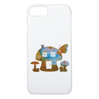 Pilz-Haus iPhone 8/7 Hülle