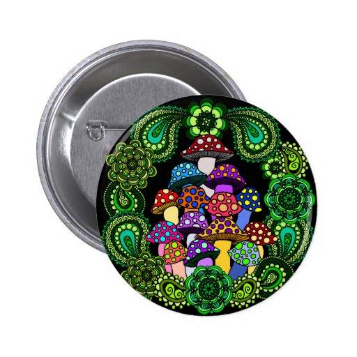 Pilz-Knopf Button