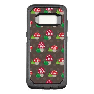 Pilz scherzt Muster OtterBox Commuter Samsung Galaxy S8 Hülle