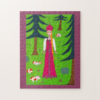 Pilz-Waldpuzzlespiel Puzzle
