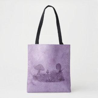 Pilz-Wiesen-Taschen-Tasche Tasche