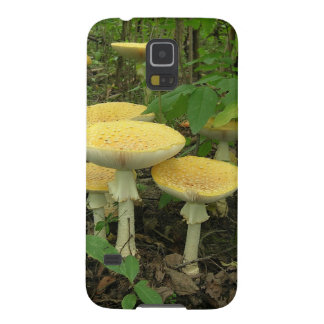 Pilze auf dem Waldboden Galaxy S5 Hülle