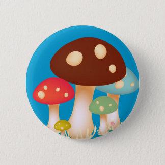 Pilze Runder Button 5,1 Cm