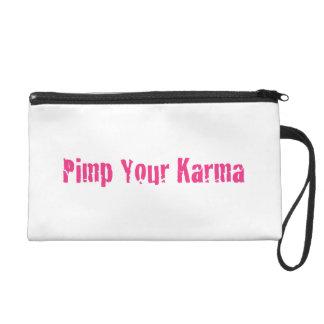 Pimp Your Karma-Wristlet