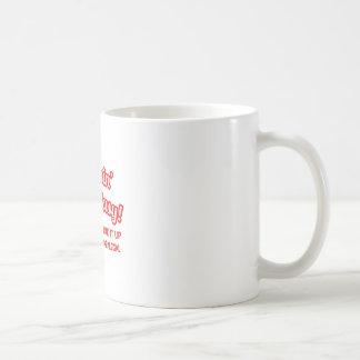 Pimpin ist nicht. einfach. Rechtsassistent Kaffeetasse