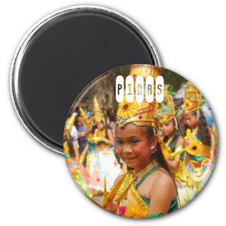 Pinas Philippinen Runder Magnet 5,7 Cm