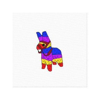 Piñata Cartoon-Mexiko-Fiesta-Pferd Leinwanddruck