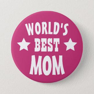 Pinback die beste Mamma der Welt buntes