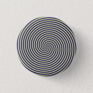 Pinback Knopf-Strudel in grün-blauem und in Runder Button 2,5 Cm