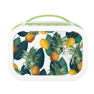 pineaple und Zitronenweiß Brotdose