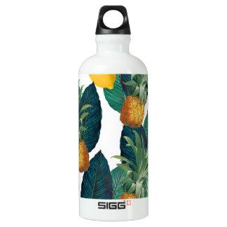 pineaple und Zitronenweiß Wasserflasche