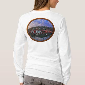 Pineridge Punkt-e Boots-Verein-Damen langärmlige T T-Shirt
