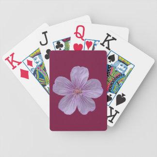 Pineywoods Pelargonie #1 Bicycle Spielkarten