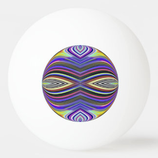 Ping Pong Ball - Fraktal abstrakt Tischtennis Ball