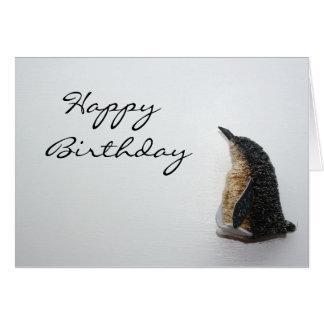 Pinguin-alles- Gute zum Geburtstagkarte Karte
