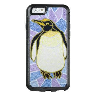 Pinguin auf Buntglas OtterBox iPhone 6/6s Hülle