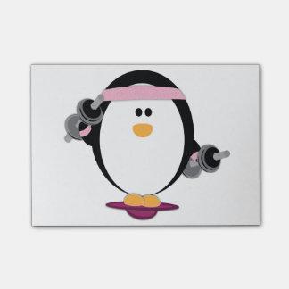 Pinguin-Aufzug-Post-It Post-it Klebezettel