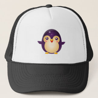 Pinguin-Baby-Tier in der Girly süßen Art Truckerkappe