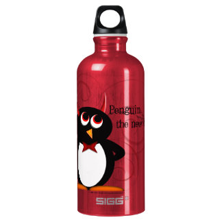 Pinguin, das neue Schwarze Wasserflasche