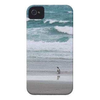 Pinguin, der vom Ozean zurückgeht iPhone 4 Hülle