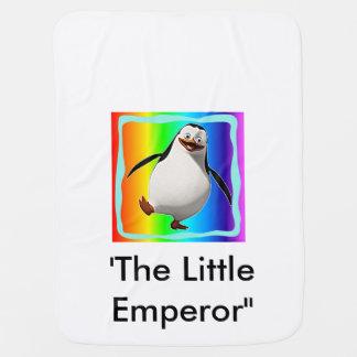 Pinguin entwarf Babydecke