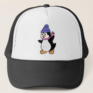 Pinguin-Fernlastfahrer-Hut Truckerkappe