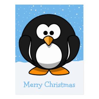 Pinguin-frohe Weihnachten Postkarten