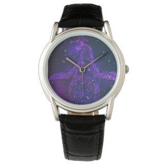 Pinguin-Galaxie-Uhr Uhr