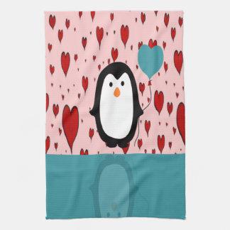 Pinguin Geschirrtuch