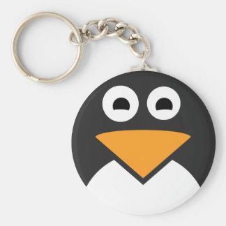 Pinguin-Gesicht Schlüsselanhänger