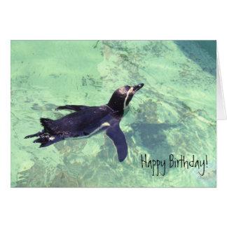 Pinguin Grußkarte