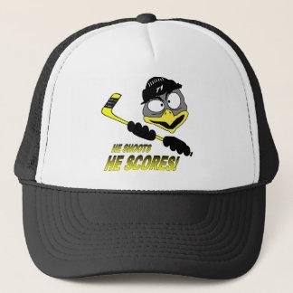 Pinguin-Hockey-Hut Truckerkappe