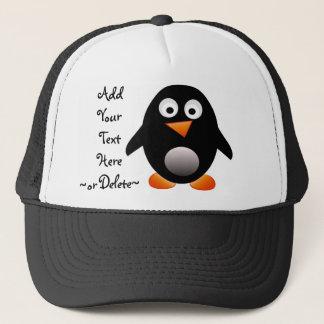 Pinguin-Hut Truckerkappe